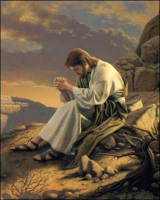Jesus-Picture-Praying-On-The-Mountain